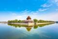 Картинка река, здание, Китай, архитектура