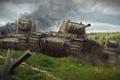 Картинка tank, танк, КВ-2, танки, World of Tanks, КВ-1, Wargaming.Net