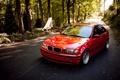 Картинка BMW, red, E46