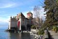Картинка природа, фото, памятник, музей, тюрьма, Шильонский замок