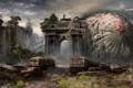 Картинка машины, апокалипсис, Москва, автобусы, New Union, Новый Союз