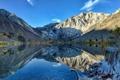 Картинка пейзаж, горы, озеро