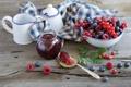 Картинка ягоды, натюрморт, джем