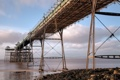 Картинка пейзаж, мост, залив