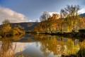 Картинка небо, природа, озеро, фото, Германия, Нерен