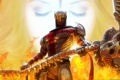 Картинка оружие, воин, dantes inferno