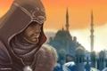 Картинка эцио, Assassins Creed, Revelations, константинополь, мечеть, мастер