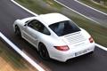 Картинка дорога, белый, купе, скорость, 911, 997, суперкар