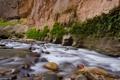 Картинка горы, река, камни, скалы, поток