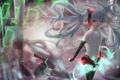Картинка вода, девушка, отражение, vocaloid, hatsune miku, вокалоид, miku append