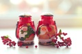 Картинка зима, ягоды, Рождество, красные, Новый год, Christmas, New Year