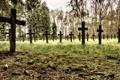Картинка фон, кресты, кладбище