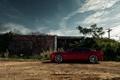 Картинка красный, кабриолет, Chevrolet Camaro, камаро, шевролет