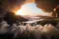 Картинка вода, природа, скалы