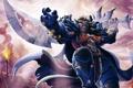 Картинка World of Warcraft, Таурен, таурен-воин, Тауренша, Tauren