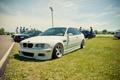Картинка бмв, BMW, белая, tuning, E46, автовыстовка