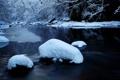 Картинка зима, снег, природа, река