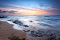 Картинка закат, берег, море