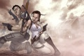 Картинка art, patrick brown, Chris Redfield, Resident Evil 5, Sheva Alomar, fan