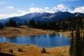Картинка вода, деревья, фото, обои, пейзажи, dual monitor, 3200x1200