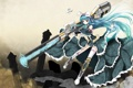 Картинка девушка, оружие, аниме, платье, арт, fatkewell