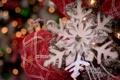 Картинка украшение, праздник, снежинка