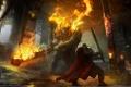 Картинка оружие, огонь, fire, сражение, мечи, battle, game wallpapers
