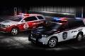 Картинка Fire & Rescue, полиция, Police, полумрак, передок, dodge, дуранго