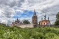 Картинка пейзаж, Село Введение, Ансамбль церквей