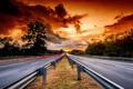 Картинка дорога, небо, закат