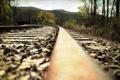 Картинка пейзаж, стиль, железная дорога