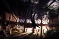Картинка темнота, здание, арт, концепт, The Last Of Us