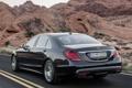 Картинка машина, Mercedes-Benz, седан, мерс, задок, BlueTec, S 350