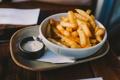 Картинка еда, соус, фри, картошка