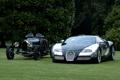 Картинка природа, черный, bugatti veyron, bugatti grand prix