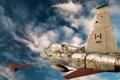 Картинка небо, памятник, самолёт, CF-5