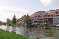 Картинка город, река, фото, побережье, дома, Германия, Бавария