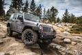 Картинка камни, джип, внедорожник, jeep wrangler rubicion