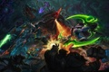 Картинка starcraft, diablo, warcraft, Zeratul, Sylvanas, Thrall, Heroes of the Storm