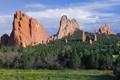 Картинка лес, природа, скалы, Колорадо