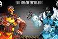 Картинка ниндзя, art, бойцы, Mortal Kombat, Scorpion, Sub-Zero