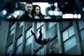 Картинка стекло, осколки, кадр, падение, Колин Фаррелл, Colin Farrell, Noomi Rapace