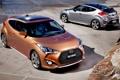 Картинка фон, купе, Hyundai, вид сзади, передок, Turbo, Турбо