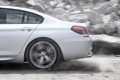 Картинка BMW, silver, dust, speed, back, gran coupe