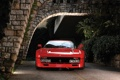 Картинка красный, фон, Феррари, Ferrari, суперкар, классика, GTO