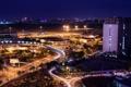 Картинка город, ночь, Tan Son Nhat Air Port