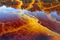 Картинка река, Уэльта, Рио-Тинто, Испания, вода, цвет