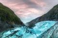 Картинка небо, облака, горы, ледник, hdr