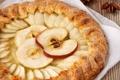 Картинка выпечка, пирог, яблоки