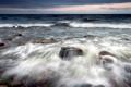 Картинка море, волны, пейзаж, природа, камни
